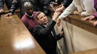 """Oscar Pistorius leaves the high court in Pretoria on Wednesday to serve six years in prison for murdering his girlfriend Reeva Steenkamp, three years ago. The judge dispelled public perception of an abusive relationship and an argument between the couple before the fatal shooting. She said not showing sensitivity to his disability would be """"an injustice""""."""