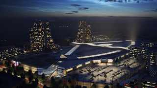 Attacq chief executive Morne Wilken said this week that Waterfall had the best development land in SA and the opening of the Mall of Africa (above) earlier this year would be the catalyst that created momentum for the development of Waterfall City. File picture: Supplied