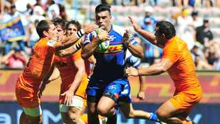 Damien de Allende scored the Stormers' opening try against the Jaguares at Newlands yesterday.Phando Jikelo/African News Agency/ANA