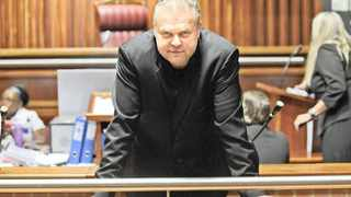 Radovan Krejcir in court. His ex-lawyer is in trouble with the law. Picture: Antoine de Ras