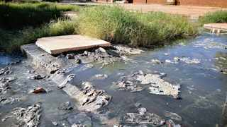 Parents of pupils at Pescodia High School in Roodepan have threatened to take to the streets after raw sewage continues to flood the school premises, posing a health risk to pupils. Picture: Danie van der Lith