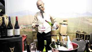 Sommelier Brian Mahanke at last year's event at Montecasino. Picture: Dimpho Maja/African News Agency (ANA)