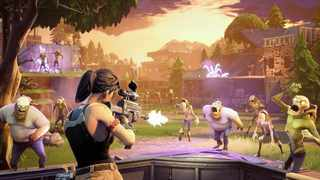 "On 'Fortnite', gamers fight to ""stay alive' during a 20-minute battle royal.  Picture: Flickr.com."