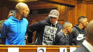Vernon Witbooi, Geraldo Parsons, Eben van Niekerk and Nashville Julius are accused of the kidnapping and rape of Hannah Cornelius. Picture: David Ritchie/African News Agency (ANA)