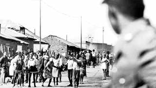 Black pupils take to the streets to protest the quality of their education on June 16, 1976. Picture: Independent Media Archives