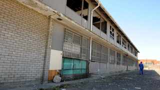Uitsig High School, which was closed down. File picture: Tracey Adams/African News Agency (ANA)