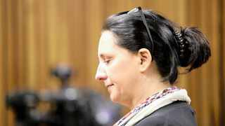 Convicted racist Vicky Momberg in the Randburg Magistrate's Court during her bail application. File picture: Nhlanhla Phillips/African News Agency (ANA)