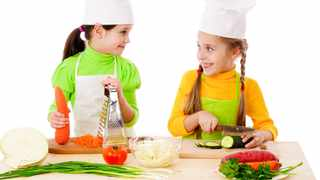 Junior cooks to be put to the test. Picture by Sergiy Bykhunenko.