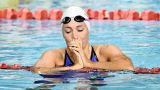 The second day of swimming in Durban belonged to the women, including Tatjana Schoenmaker. Photo: Dave Hunt/EPA