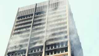 Three firefighters have lost their lives following a fire at the departments of Health and Human Settlements building in the Joburg CBD. Karen Sandison/African News Agency(ANA)