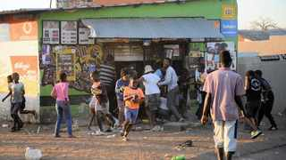 Foreign-owned shops were looted amid allegations that they sold expired food and items with counterfeit labels.  Picture: Bhekikhaya Mabaso Africa News Agency (ANA)