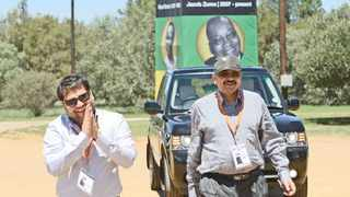 Ajay and Rajesh Gupta arrive at the official opening day of the 53rd ANC elective conference in Mangaung. Zondo denied the them the chance to testify via video link. Picture: Antoine de Ras