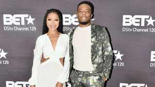 Woody McClain and Gabrielle Dennis on their world tour of the mini-series at the Four Seasons Hotel in Westcliff.      Itumeleng English/African News Agency (ANA)