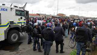 A total of eight protesters were arrested in Bonteheuwel last week.