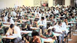 Matric pupils write exams. File picture: Timothy Bernard/African News Agency Archives (ANA)