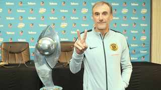 Giovanni Solinas will hope to end the barren spell at Kaizer Chiefs by winning the Telkom Knockout. Photo: BackpagePix