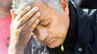 Jose Mourinho's reputation of being a master tactician and supreme motivator is in danger of being tarnished by Manchester United's fall from grace.   PETER POWELL EPA