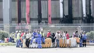 A GROUP of employees hired through four labour brokers at Transnet's Container Terminal yesterday refused to work, demanding that their grievances be addressed by the port authority.     Leon Lestrade  African News Agency  (ANA)