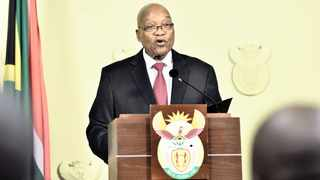 Jacob Zuma announced his resignation as president to the nation in February. File picture: Elmond Jiyane/GCIS