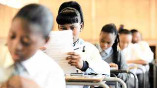 A teachers' union has questioned the ingenuity of progressing learners to matric if the majority of them are barred from writing the full final exam. Picture: Chris Collingridge/African News Agency (ANA) Archives