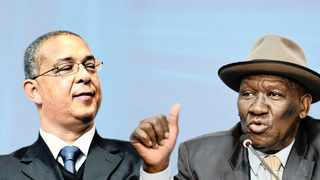 A montage of Independent Police Investigative Directorate executive director Robert McBride and Police Minister Bheki Cele.  Picture: African News Agency (ANA Archives)