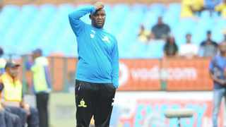 Pitso Mosimane's team will host Al Ahly in the first leg quarter-final on the weekend of April 5/6, with the return leg in Egypt on April 12/13. Photo: Sydney Mahlangu/BackpagePix