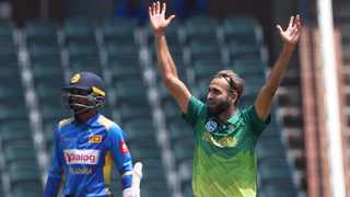 The soon-to-be 40-year-old Imran Tahir has played 95 ODIs, and if all goes to plan, will play his 100th at the World Cup in England later this year. Photo: Samuel Shivambu/BackpagePix