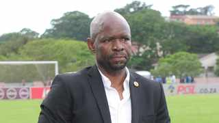 """Steve Komphela: """"We still need two points and then we are out of relegation."""" Photo: Gerhard Duraan/BackpagePix"""