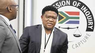 Fikile Mbalula at the State Capture Commission of Inquiry in Parktown. Picture: Simphiwe Mbokazi/African News Agency(ANA)