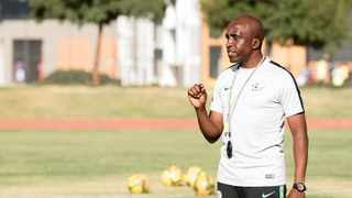 Coach David Notoane will be hoping to pull his Under-23 national team closer to the 2020 Tokyo Olympics Games. Photo: Muzi Ntombela/BackpagePix