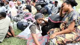 Loveness James, 22, and her friend Marriam Mbambichi, 25, both from Malawi, spent a night at Sydenham police station last week following a flare-up of xenophobic violence in the Durban suburb. File picture: Zanele Zulu/African News Agency (ANA)