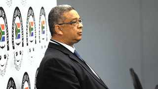 Former Independent Police Investigative Directorate head Robert McBride testifying at the state capture inquiry. Picture: Bhekikhaya Mabaso/African News Agency (ANA)