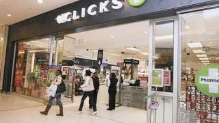 CLICKS opened 17 stores in the six months to the end of February.     Leon Nicholas African News Agency (ANA)