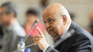 Public Enterprises Minister Pravin Gordhan has until 1pm to answer to allegations of his involvement in the establishment of a rogue unit at the SA Revenue Service. Picture: Henk Kruger/African News Agency/ANA