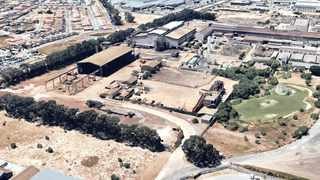 AN AERIAL view of the Cisco steel company in Kuils River. Picture: Google Earth Screengrab