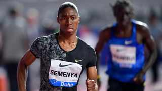 Caster Semenya was in fine form as she won the in Doha over the weekend as her recent CAS verdict is still a hot topic. Photo: