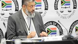 Transnet Group Acting Chief Executive Officer Mohammed Mahomedy at the state capture inquiry. File picture: Karen Sandison/African News Agency(ANA).