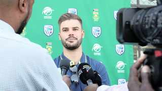 Aiden Markram of South Africa during a Proteas media event. Photo: Muzi Ntombela/BackpagePix