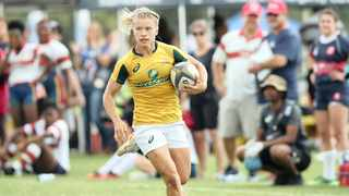 Nadine Roos will run out at the Cape Town Sevens this weekend. Photo: SA Rugby