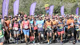 The Comrades Marathon has  partnered with one of the biggest sports apparel outfits to support The Ultimate Human Race. Photo: Doctor Ngcobo / African News Agency / ANA