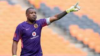 Itumeleng Khune was at No 1 on the South Africa trend on Twitter on Friday. Photo: BackpagePix