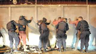 """Community Safety MECAlbert Fritz at the weekend revealed that most of the 1 000 suspects arrested in a clampdown on gang violence in the Cape Flats were released """"within 72 hours"""".    Picture: David Ritchie/African News Agency (ANA)"""