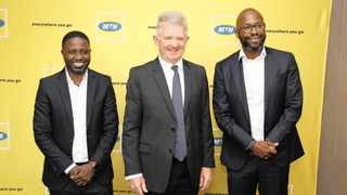 FELIX Kamenga, MTN South Africa's chief officer for financial services.     Supplied