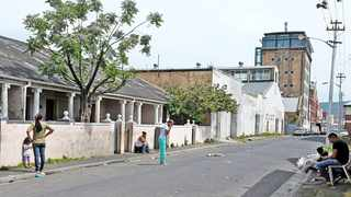 Fewer than 10 familes remain in Woodstock's Bromwell Street. Picture: Tracey Adams/African News Agency (ANA)