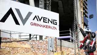 Construction Group Aveng has new optimism as its Australian subsidiary McConnell Dowell added A$535 million (R5.45 billion) in the period after June 30 to an already growing order book. Photo: Siphiwe Sibeko/Reuters