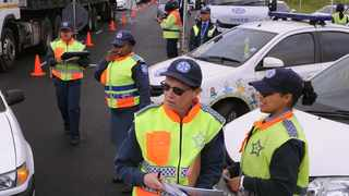 The City of Cape Town's enforcement services conducted an integrated, all-female roadblock on Jakes Gerwel Road yesterday, to highlight the contribution of women in the service. Officers focused on a range of offences, but also on educating passing motorists about road safety.   Tracey Adams African News Agency (ANA)
