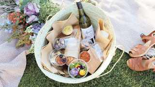Have a picnic basket check-list for all your essential food. Picture: Supplied