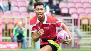Wayde van Niekerk in action during the fateful tag rugby match at Newlands in 2017. Photo: Ryan Wilkisky/BackpagePix