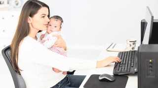 FEW MOTHERS have the opportunity to work from home, so once you've decided on this route, embrace the privilege of being able to see your children grow.     Freepik