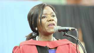 Former public protector Thuli Madonsela was awarded an honorary doctorate by the University of KwaZulu-Natal. Picture: Tumi Pakkies/AfricanNewsAgency(ANA)